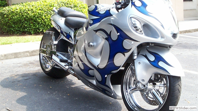 NiceCycle Tribal Hayabusa Fairings