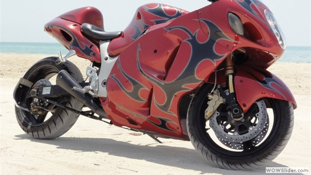Custom Hayabusa NiceCycle Fairings