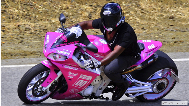 VH1's Kris Cottrell - NiceCycle Breast Cancer Awareness R1