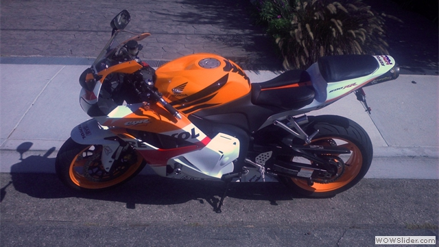 Unique Honda Repsol Fairings by NiceCycle