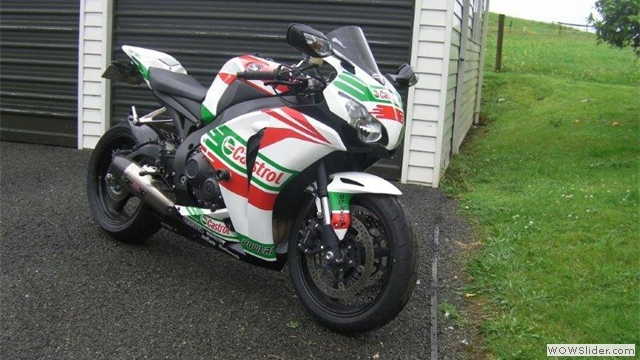 NiceCycle Castrol Honda Fairings