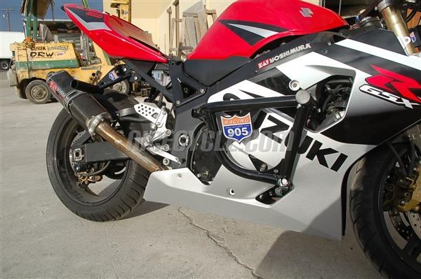 suzuki gsxr 750 stunt engine cage 2004 2005 by racing 905. Black Bedroom Furniture Sets. Home Design Ideas