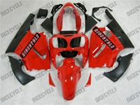 Red Kawasaki ZX12R Fairings