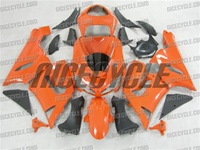 Kawasaki ZX6R Orange Fairings