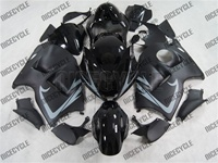 Satin Black/Grey Accents Suzuki Hayabusa Fairings