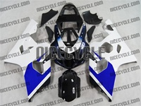 Blue/White Suzuki GSX-R 600 750 Fairings