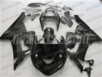 Kawasaki ZX6R Dark Charcoal Metallic Fairings