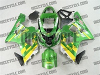 Green Movistar Suzuki GSX-R 600 750 Fairings