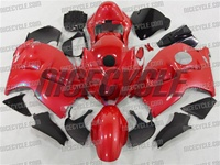 Rage Red Suzuki GSX-R 1300 Hayabusa Fairings