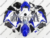 Blue/White Suzuki GSX-R 1300 Hayabusa Fairings