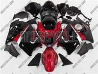 Suzuki GSX-R 1300 Hayabusa Candy Red/Black Fairings
