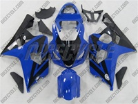 Blue/Black Suzuki GSX-R 600 750 Fairings