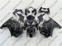 Gloss Black Ninja 250R Fairings