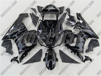 Kawasaki ZX6R Tribal Grey Fairings