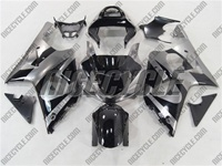 Suzuki GSX-R 1000 Deep Silver/Black Fairings