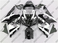 Suzuki GSX-R 1000 Phantom Black/White Fairings