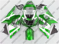 Suzuki GSX-R 1000 Electric Green/White Fairings