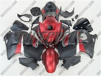 Suzuki GSX-R 1300 Hayabusa Matte Red/Black Fairings