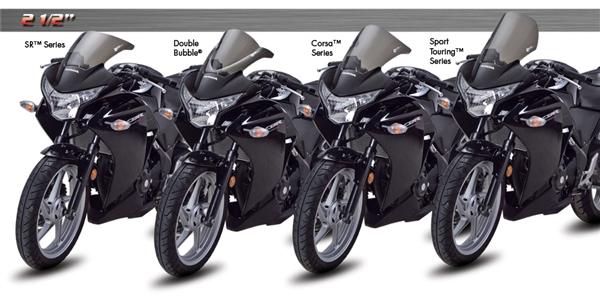 Honda CBR250R 2011-Present Zero Gravity Windscreen SR Series