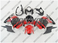 Red Monster-ous Ninja 250R Fairings