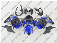 Blue Monster-ous Ninja 250R Fairings
