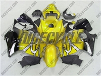 Yellow Tribal Fade Suzuki GSX-R 1300 Hayabusa Fairings