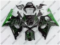 Suzuki GSX-R 1000 Green Fire Fairings