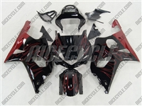 Suzuki GSX-R 1000 Red Fire Fairings