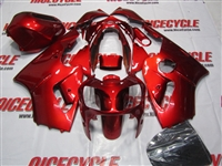 Kawasaki ZX12R Candy Paint Red Fairings
