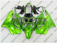 Kawasaki ZX12R Candy Green Fairings