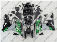 Honda CBR 600RR Two Brothers Green Fairings