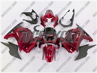 Candy Red Ninja 250R Fairings