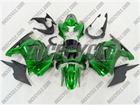 Candy Green Flame Ninja 250R Fairings