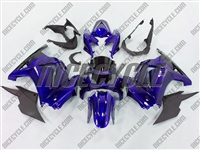 Candy Blue Ninja 250R Fairings
