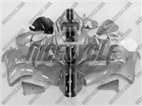 Candy Silver Racing Suzuki GSX-R 1300 Hayabusa Fairings