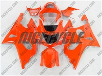 Neon Orange Suzuki GSX-R 1000 Fairings