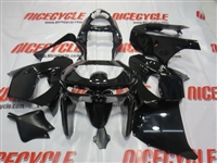 Kawasaki ZX9R Gloss Black Fairings