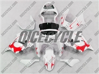 Kawasaki ZX9R Red Tribal Fairings