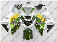 Suzuki GSX-R 1000 Green/Yellow/White Fairings