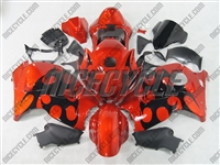 Suzuki GSX-R 1300 Hayabusa Razor Tribal Orange Fairings