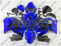 Suzuki GSX-R 1300 Hayabusa Razor Tribal Blue Fairings