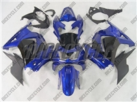 Black/Blue Ninja 250R Fairings