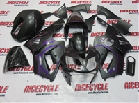 Kawasaki ZX12R Tribal Purple Matte Fairings