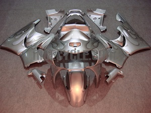 Silver Honda CBR900RR Motorcycle Fairings