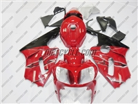 Kawasaki ZX12R OEM Style Red Fairings