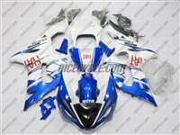Blue FIAT Kawasaki ZX6R Fairings