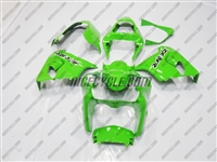 Kawasaki ZX9R Bright Green Fairings