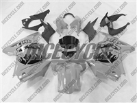 Skull Head Grey Ninja 250R Fairings