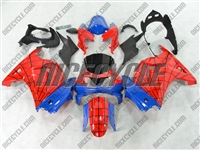 Spiderman Ninja 250R Fairings