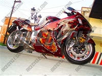 Suzuki GSX-R 1300 Hayabusa Wicked Airbrush Fairings